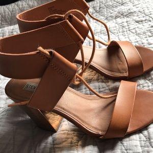 Brown ankle Heel